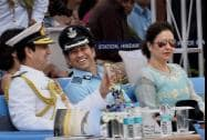 Sachin Tendulkar, cricket legend and honorary Group Captain in IAF