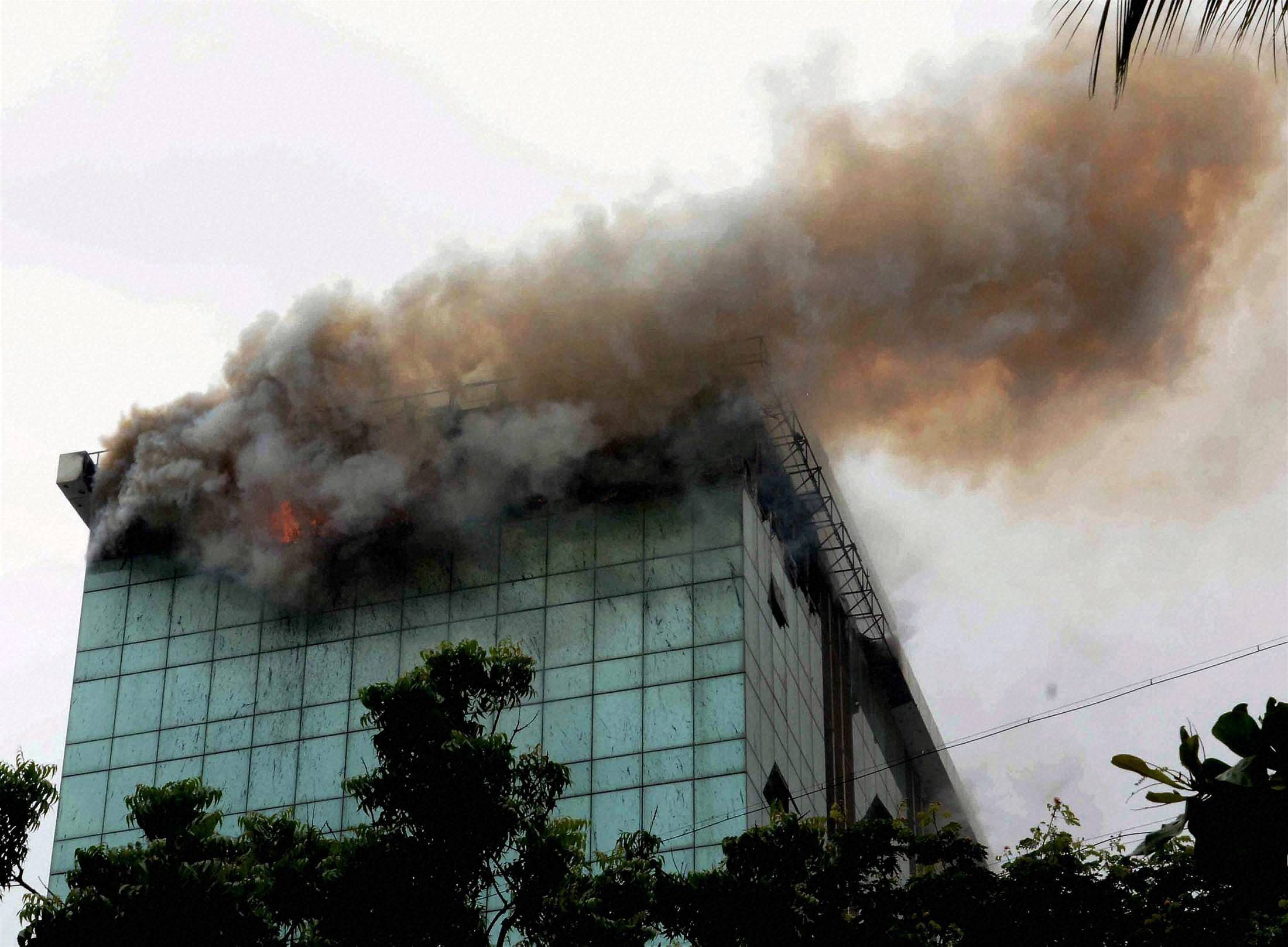 major fire, Lotus Business Park, Building, Andheri, Mumbai