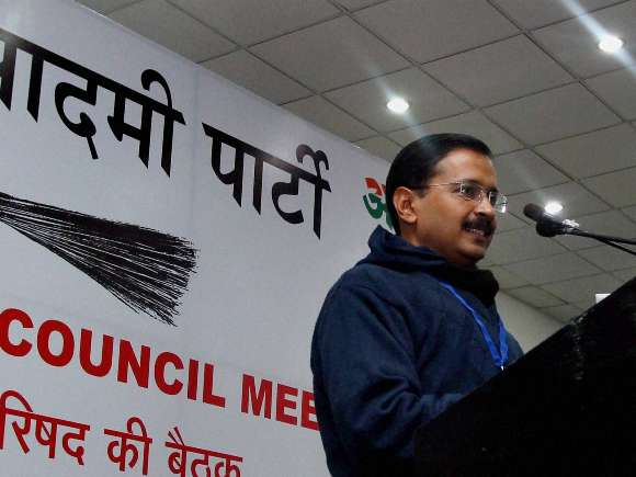 Arvind Kejriwal, CM, AAP National Executive Meet