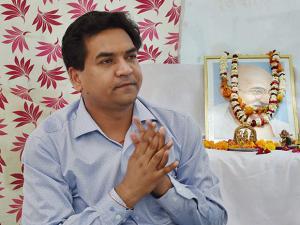 Delhi minister Kapil Mishra on indefinite hunger strike