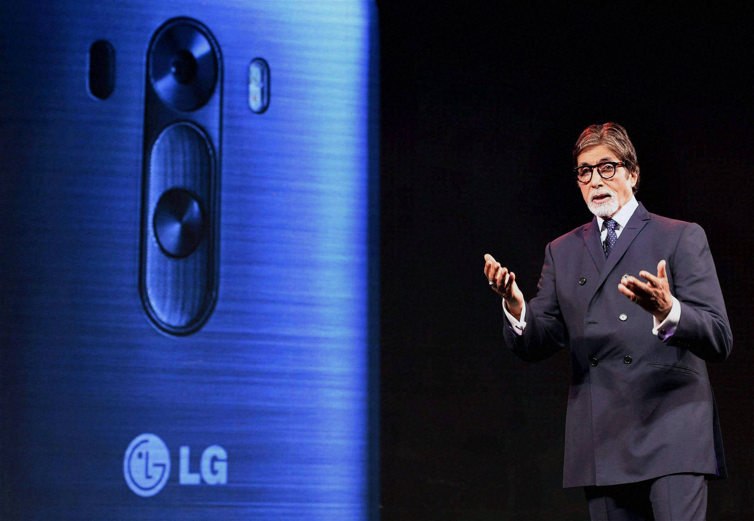 Bollywood actor, Amitabh Bachchan, launch, LG G3 Smartphone, Mumbai