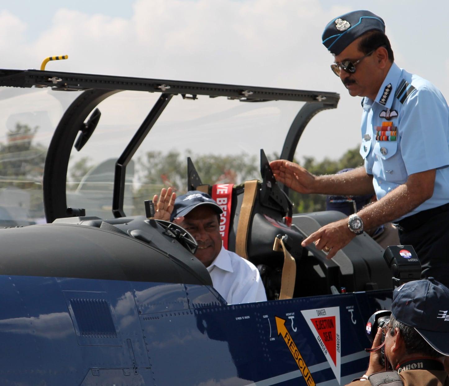 A K Antony, Aero India