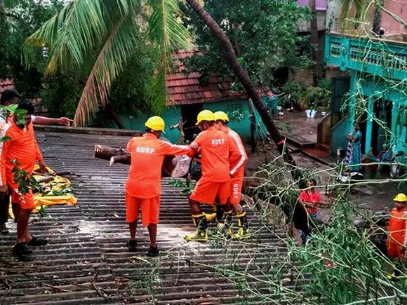 Vardah, Cyclone Vardah, NDRF, Cyclone