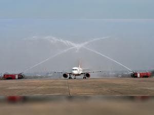 Air India  inducted the first Airbus 320 neo plane, touted as fuel efficient
