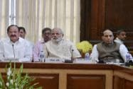 Narendra Modi, Rajnath Singh, Venkaiah Naidu