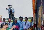 Congress President Sonia Gandhi pay tributes to Bhimrao Ambedkar