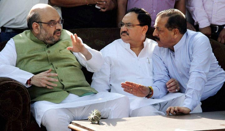 BJP National President, Amit Shah, MoS, PMO, Jitendra Singh, interaction, villagers, affected, Pakistani, shelling, RS Pura