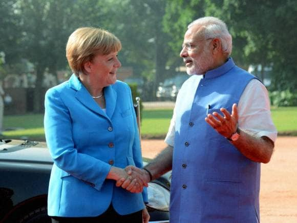 Angela Merkel, Prime Minister of India, Narendra Modi, Angela Merkel in New Delhi, Merkel in India, Merkel Modi meet, Angela Merkel India Visit, PM Modi, India Germany
