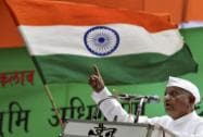Anna Hazare agitation against the ordinance on Land Acquisition Bill