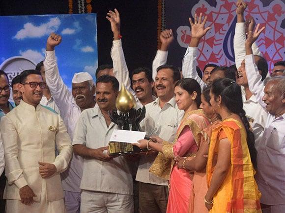Water Cup awards 2016, Satyamev Jayate, Aamir Khan