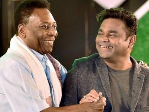 AR Rahman excited to meet Pele in Kolkata