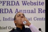 Finance Minister Arun Jaitley at the launch website