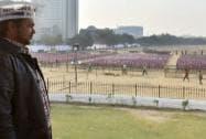 Arvind Kejriwal shapath vidhi samaroh at Ramlila Maidan