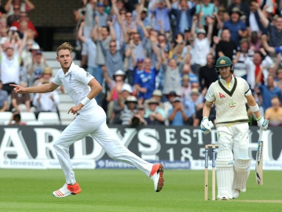 Stuart Broad, Michael Clarke, Alastair Cook, England, Australia, Ashes series, Ashes 2015