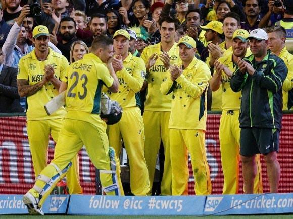 World Cup,  World Cup final, Australia,  New Zealand, Sachin Tendulkar, Michael Clarke,  Mitchell Starc, James Faulkner, Mitchell Johnson, Cricket fan