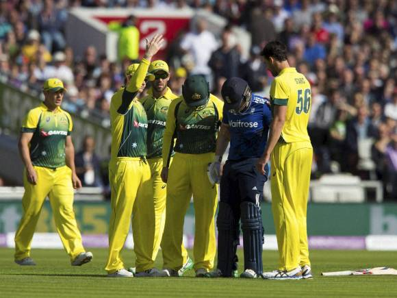 Eoin Morgan, Mitchell Starc, Australia win ODI series, Australia team, England team
