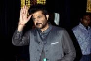 Bollywood actor Anil Kapoor during Diwali celebrations in Mumbai