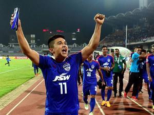 Bengaluru FC captain Sunil Chhetri