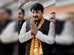 New BJP Delhi President Manoj Tiwari