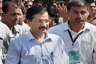 Kejriwal at the party's national executive meet