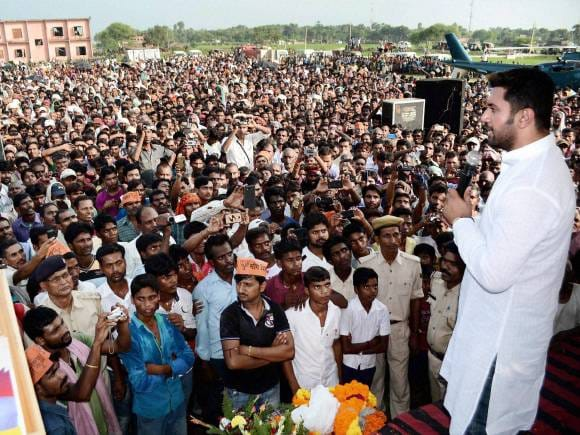 LJP MP, Chirag Paswan, Election rally, Public rally, Bihar Election, Bihar Election date, Bihar Poll, Bihar Elections 2015, Bihar polls