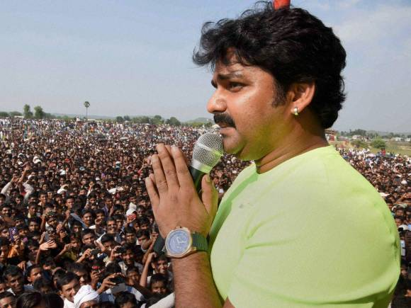 Bhojpuri actor Pawan Singh, Election rally, Bihar Election, Bihar Election date, Bihar Poll, Bihar Elections 2015, Bihar polls