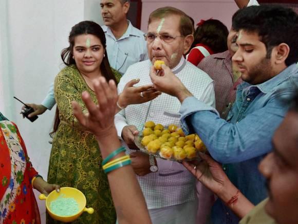 Sharad Yadav, Bihar Election, Bihar Election Result, Bihar Election Polls, Mahagathbandhan, RJD, JD(U), BJP, NDA, Congress