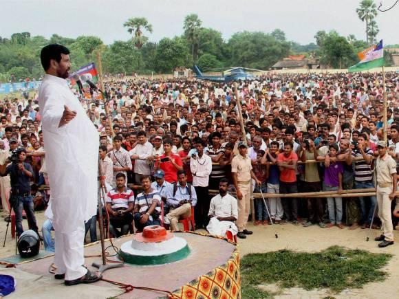 LJP chief, Union Minister, Ram Vilash Paswan, Election rally, Bihar Elections, Bihar Polls, Bihar Election Date, BJP Vision Document