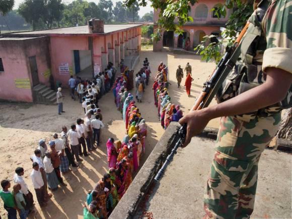 Bihar elections, Second Phase Bihar Voting, Bihar 2nd Phase Vote, Voting in Bihar, Bihar election, Bihar polls, Bihar election date, Bihar assembly elections, Nitish Kumar, Lalu Prasad, Ram Vilas Paswa, BJP, Janata Parivar, Congress, JD(U), RJD