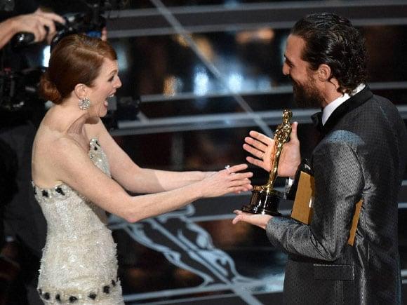Oscars, Matthew McConaughey, Julianne Moore