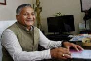 V. K. Singh assumes charge