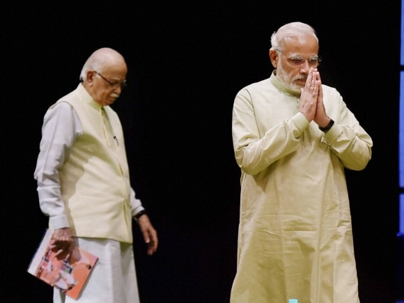 Prime Minister of India, Narendra Modi, Finance Minister of India, Arun Jaitley, Advani, BJP Parliamentary Board, New Delhi