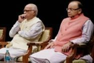 LK Advani and Arun Jaitley