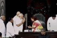 Modi greets Sumitra Mahajan