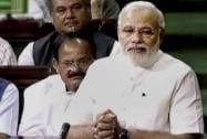 Narendra Modi speaks in LS