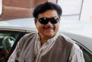 Shatrughan Sinha arrives at the Parliament house