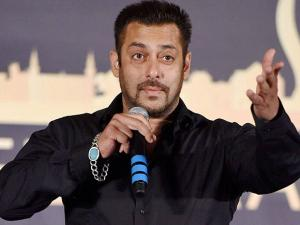 Bollywood actor Salman Khan during a press conference of IIFA awards in Mumbai