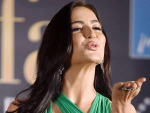 Elli Avram during a press conference of IIFA awards in Mumbai