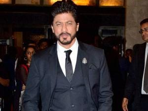 Actor Shahrukh Khan attended Preity Zinta's wedding reception in Mumbai
