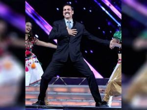 Akshay Kumar at the 'Umang Mumbai Police Show 2017' in Mumbai