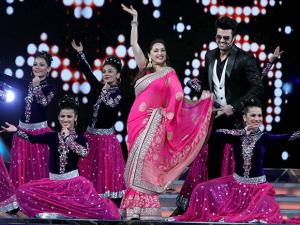 Madhuri Dixit at the 'Umang Mumbai Police Show 2017' in Mumbai