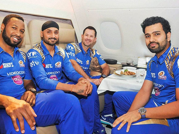 Mumbai Indians, Mumbai Indians team 2016, mumbai indians team, Etihad Airways, Etihad Airways Mumbai, West Indies Kieron Pollard, Harbhajan Singh, Ricky Ponting, Rohit Sharma, Airbus A380, Airbus A380 Airliner, jet airways, Etihad Airways Careers, etihad airways india, etihad flight status, Terrence Lewis, Abu Dhabi, Mumbai, harbhajan singh