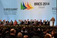 Prime Minister Narendra Modi addresses the plenary session of 6th BRICS Summit in Ceara events, Fortaleza in Brazil