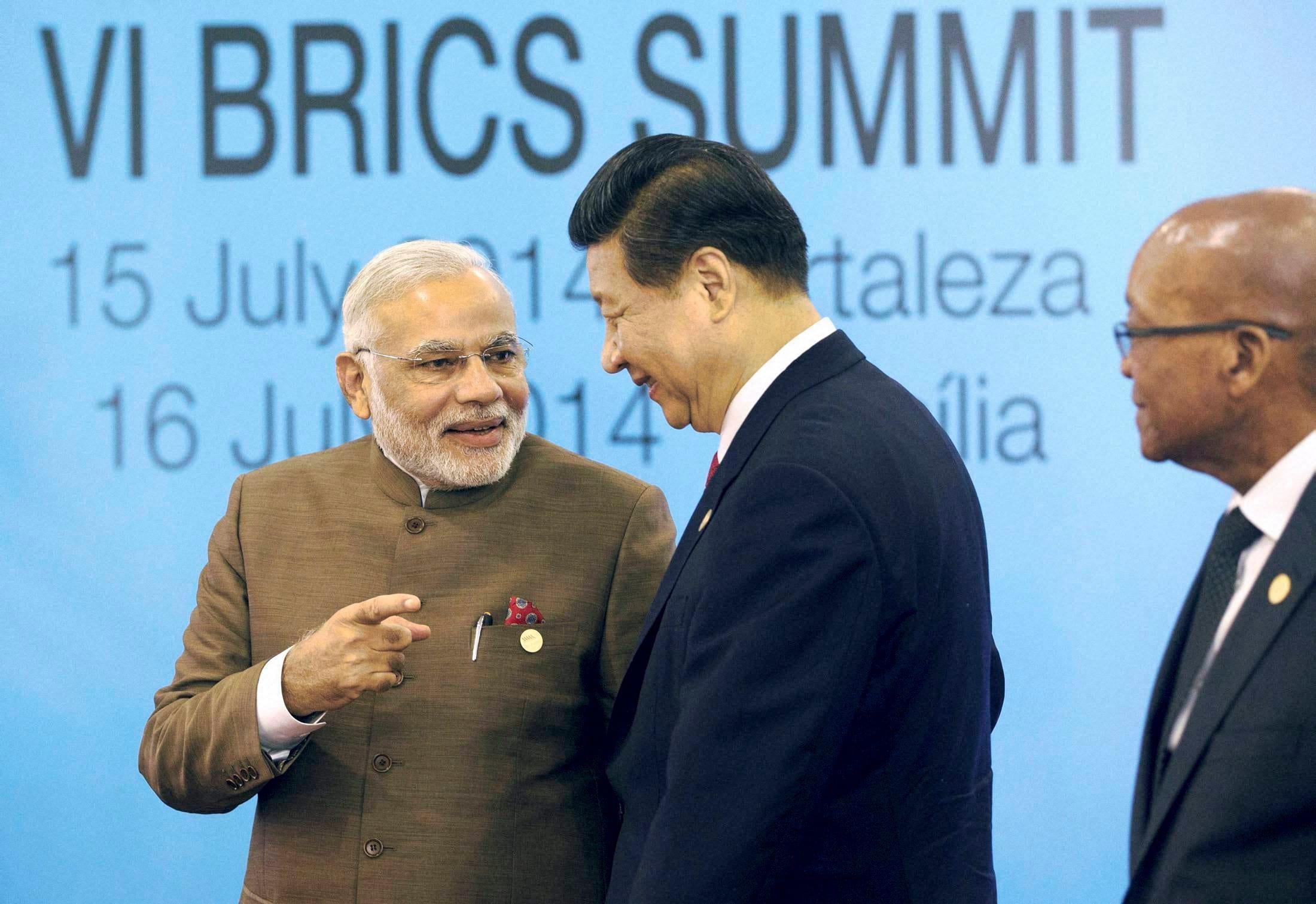 Prime Minister, Narendra Modi, Brazil's, President, Dilma Rousseff, Russian President, Vladimir Putin, Chinese President, Xi Jinping, South African President, Jacob Zuma, BRICS summit, Ceara events, Fortaleza, Brazil