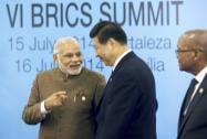 Prime Minister Narendra Modi talks with Chinese President Xi Jinping on 6th BRICS summit in Ceara events