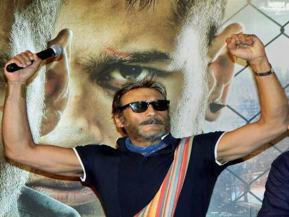 Jackie Shroff, Brothers Trailer, Mumbai