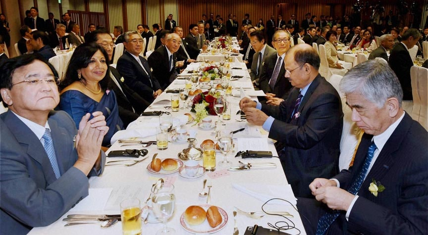 Indian, entrepreneur, Kiran Mazumdar-Shaw, other business leader, luncheon, addressed, Prime Minister, Narendra Modi, Tokyo