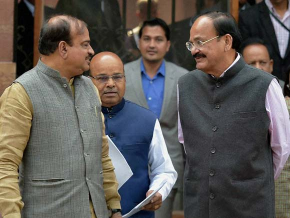 Venkaiah Naidu, Union Ministers, Cabinet meeting, New Delhi