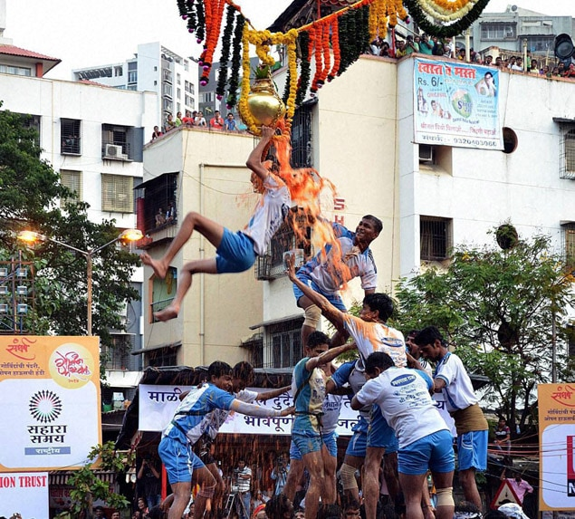 Jai Jawan Mandal, 9 layer, break, Sangharsh Handi,  occasion,  Janmashtami, Thane