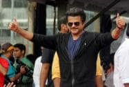 Bollywood actor Anil Kapoor during the Janmashtami celebrations in Mumbai